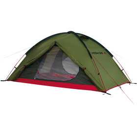 High Peak Woodpecker 3 Tent red/olive
